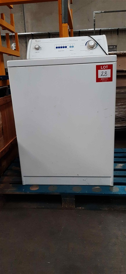 Whirlpool 6ALSC8255JQ1 Top Loader Washing Machine - Commercial