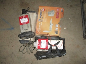 Quantity of Assorted Electrical Goods