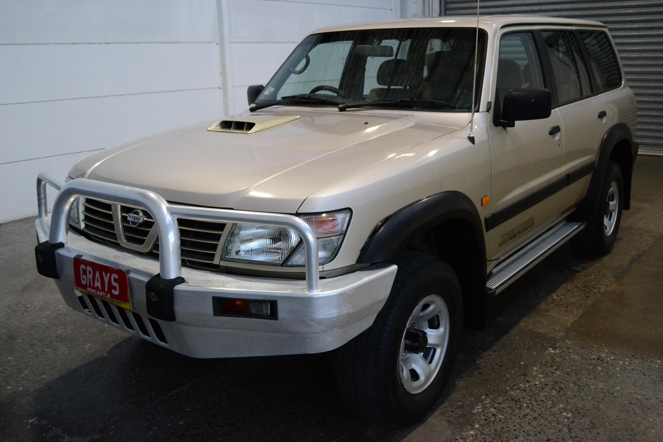 2001 Nissan Patrol ST (4x4) GU II Turbo Diesel Automatic 7 Seats Wagon