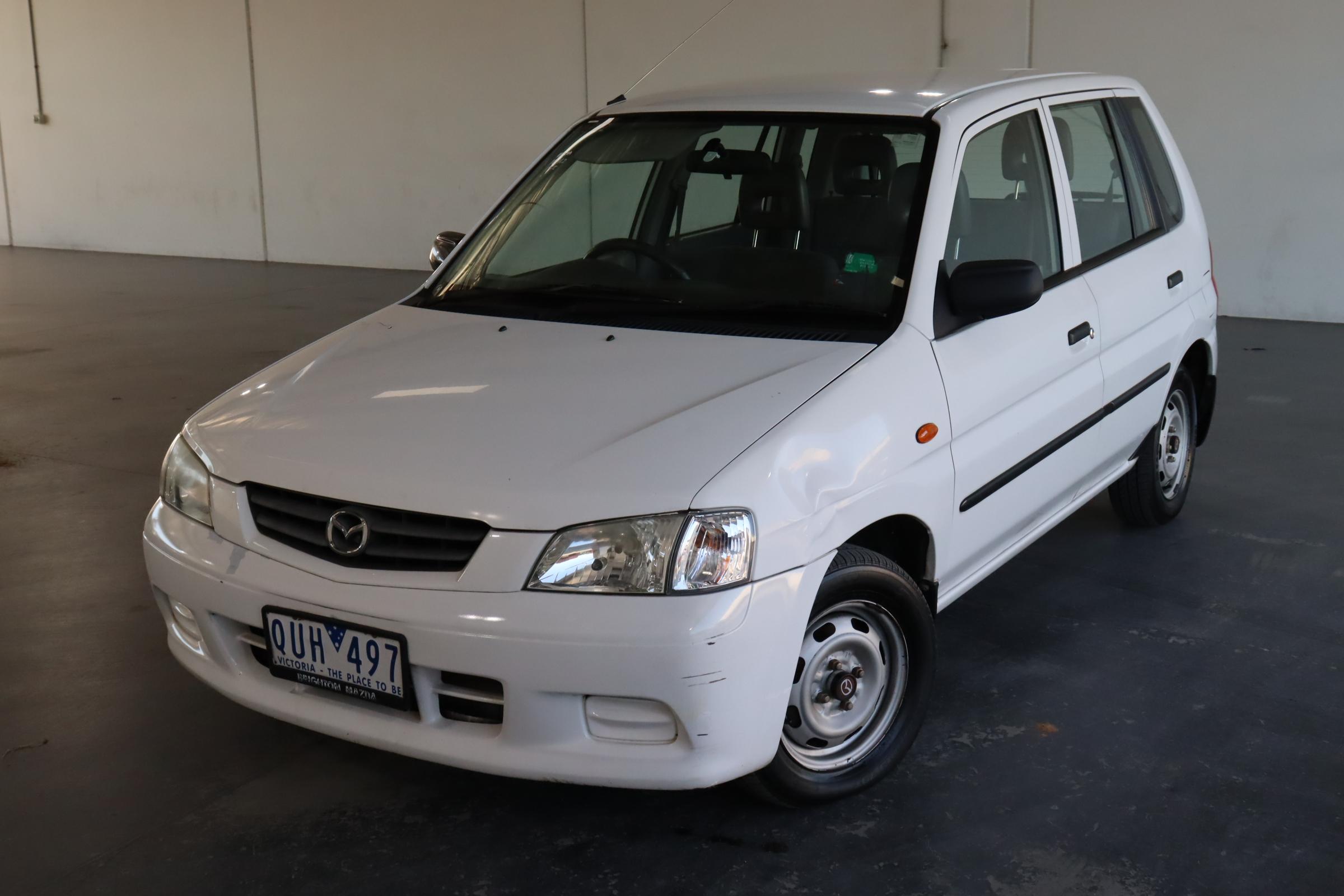 2001 Mazda 121 Metro Shades 118696kms Automatic Hatchback