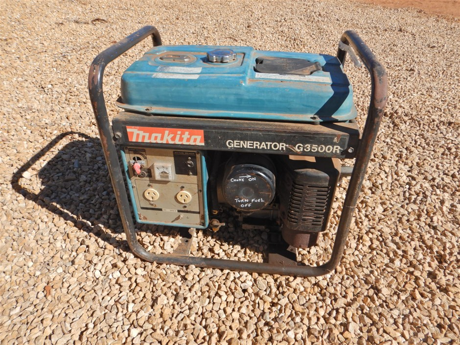 Makita G3500R Portable Generator (Linwood , SA)