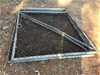 2 x Gal. Frame with Chain Link Gates