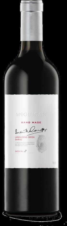 McGuigan Hand Made Shiraz 2013 (6 x 750mL) Langhorne Creek, SA