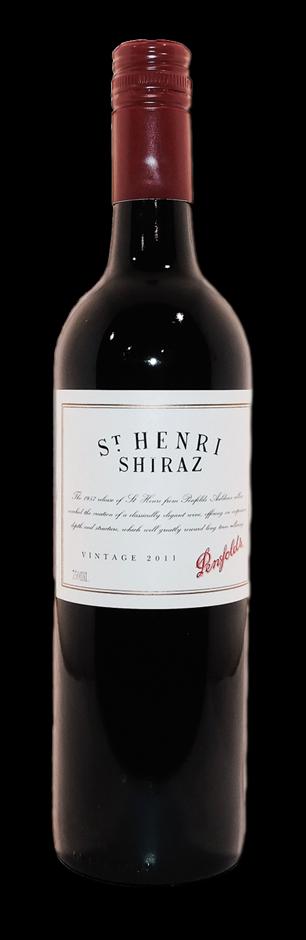 Penfolds St Henri Shiraz 2011 (1x 750mL), SA
