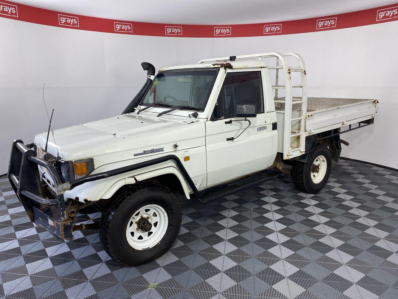 1996 Toyota Landcruiser (4x4) HZJ75 Manual Cab Chassis