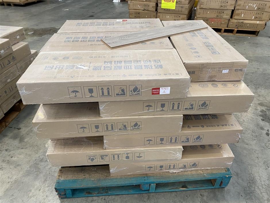 Pallet of 10mm Laminate Flooring
