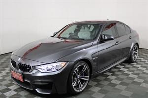 2015 BMW M3 F80 LCI Automatic Sedan