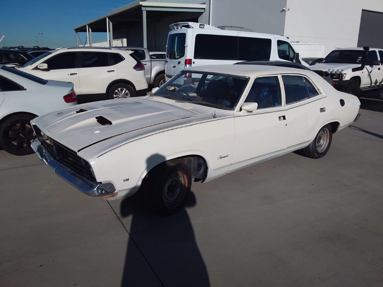 1974 Ford XB Fairmont Factory V8 Automatic Sedan