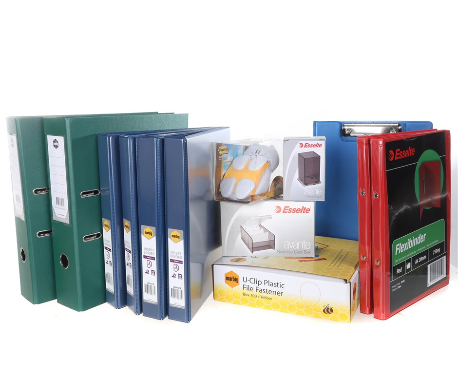 Large Box of Mixed Stationeries. (SN:B02Z3298) (281524-645)