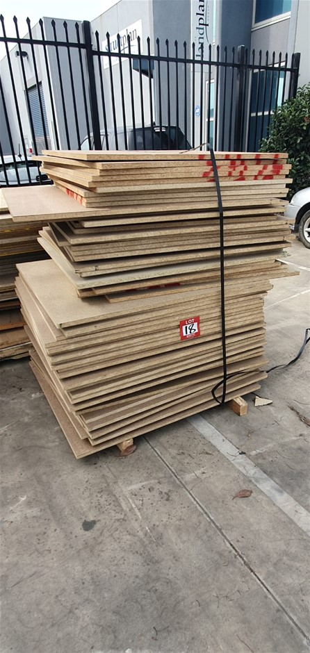 Particle board various 1mx1m 48sheets