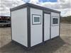 2021 Unused Accommodation & Shower / Toilet Block Unit