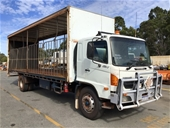 Unreserved 2007 Hino GH 4 x 2 Curtainsider Rigid Truck