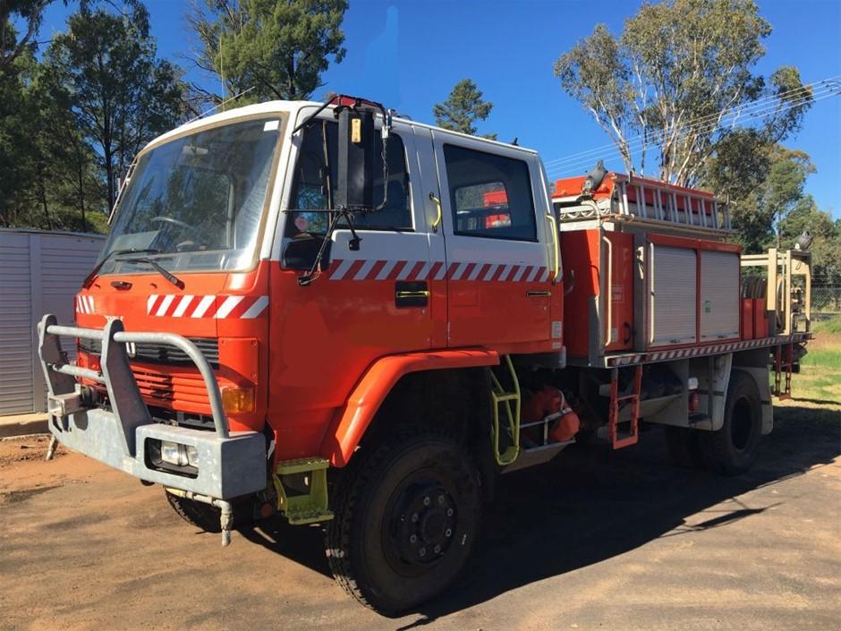 1994 Isuzu FTS700 Ex RF Fire Truck