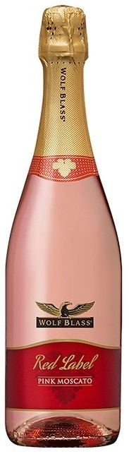 Wolf Blass Red Label Sparkling Pink Moscato * NV (6x 750mL).