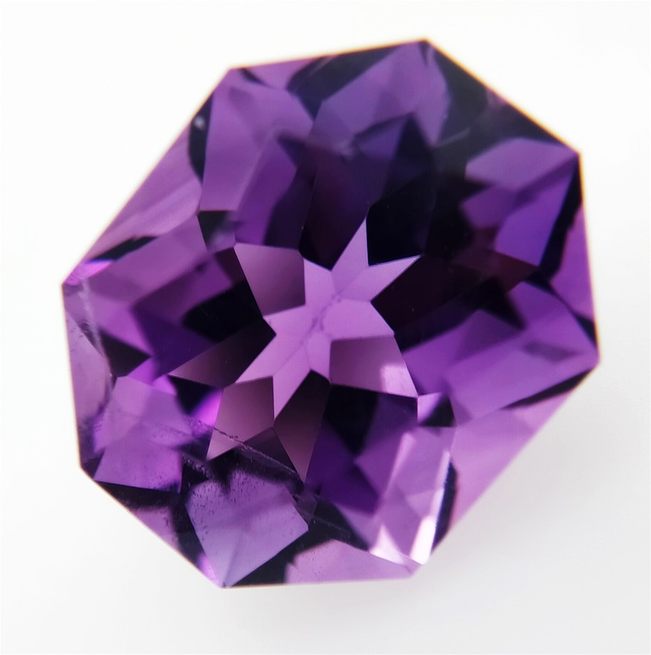 7.23 Carat Purple Amethyst