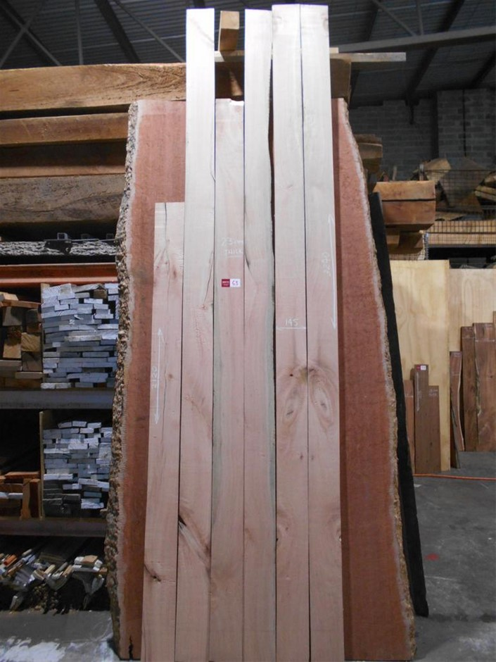 Assorted timber / furniture board pack (6 boards) - Australian Silky Oak