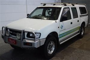 2001 Holden Rodeo LX (4x4) R9 Turbo Dies