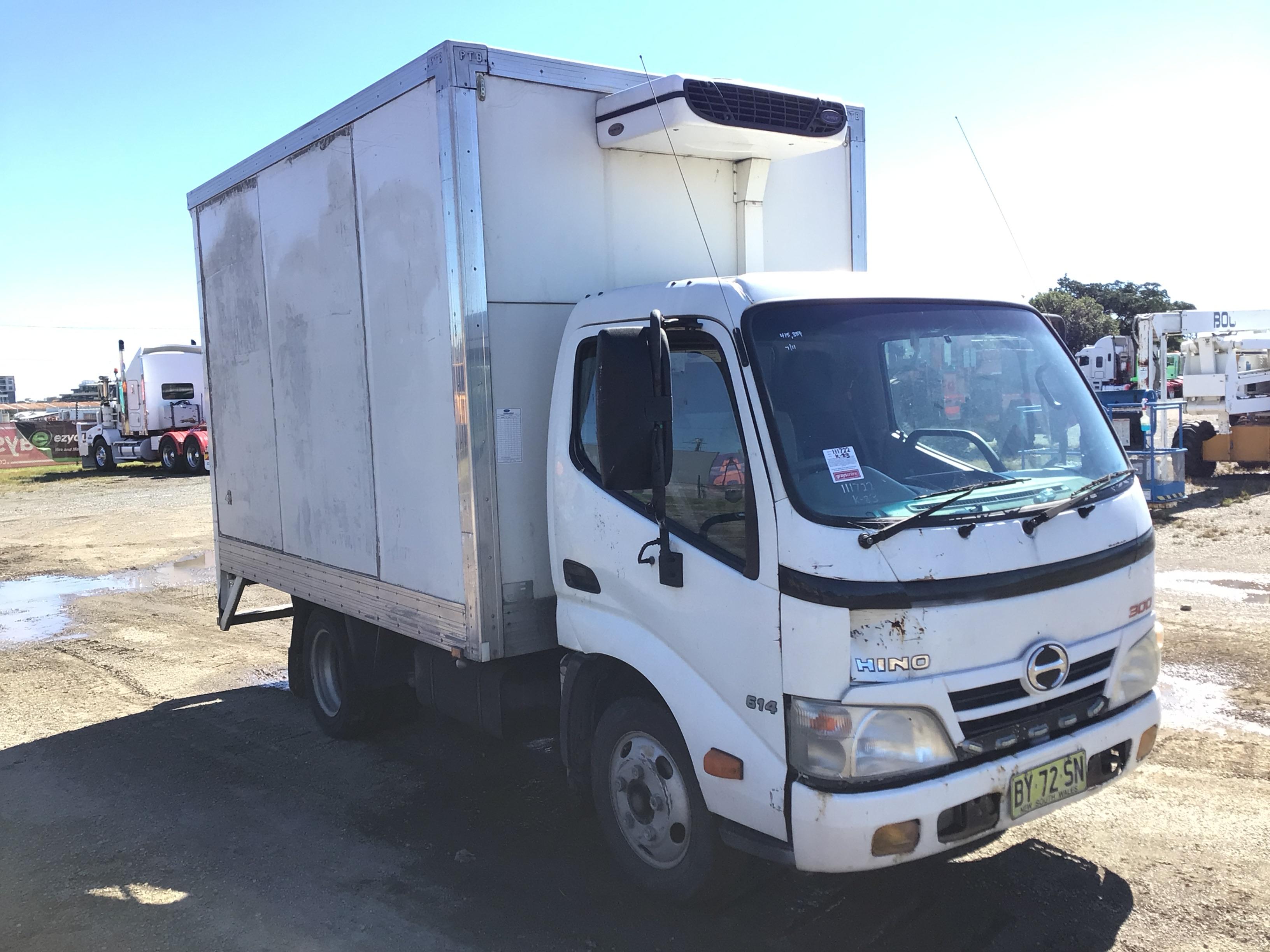 2011 Hino 300 4 x 2 Refrigerated Body Truck