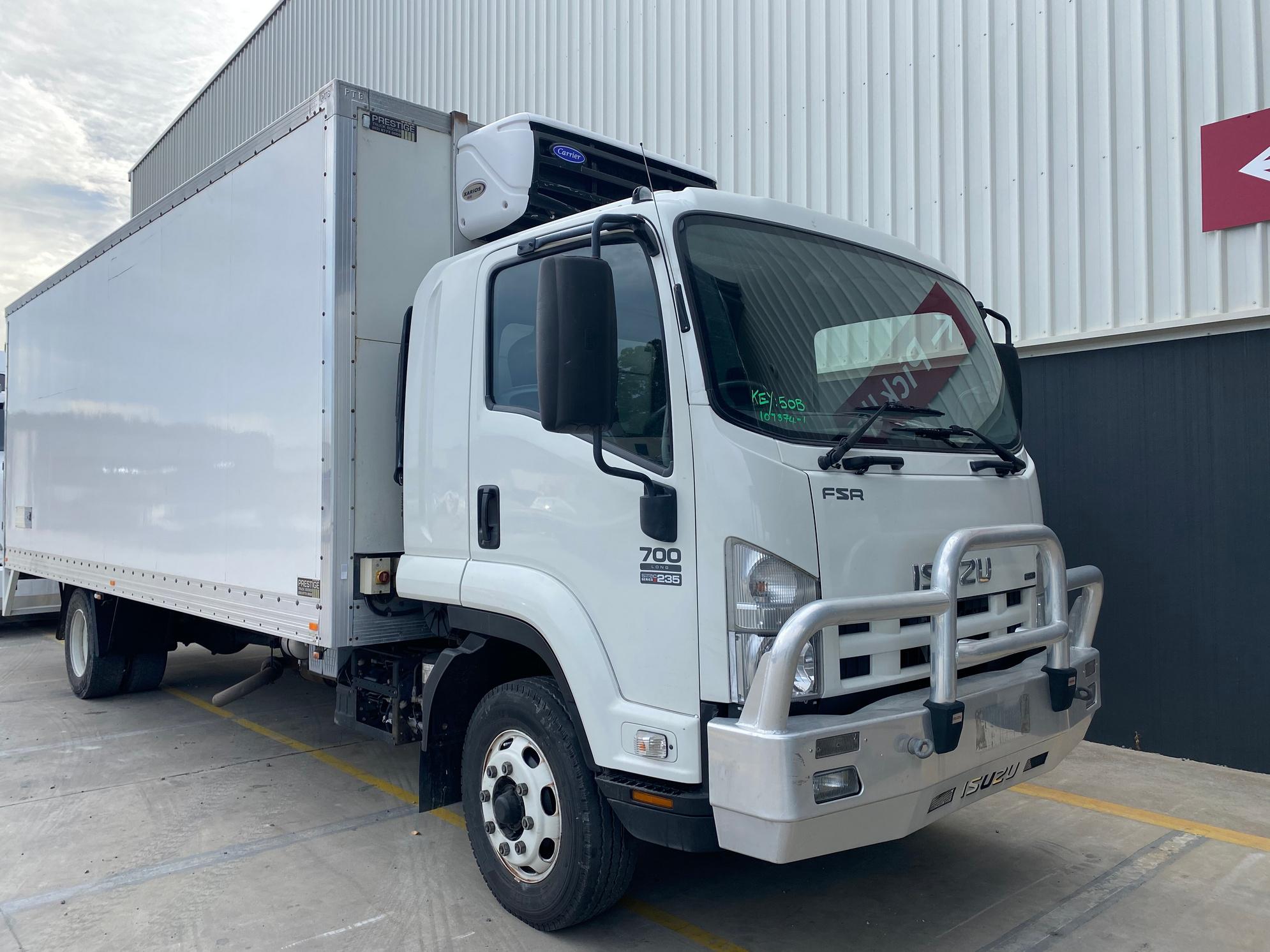 2008 Isuzu FSR700 Long 4 x 2 Refrigerated Body Truck