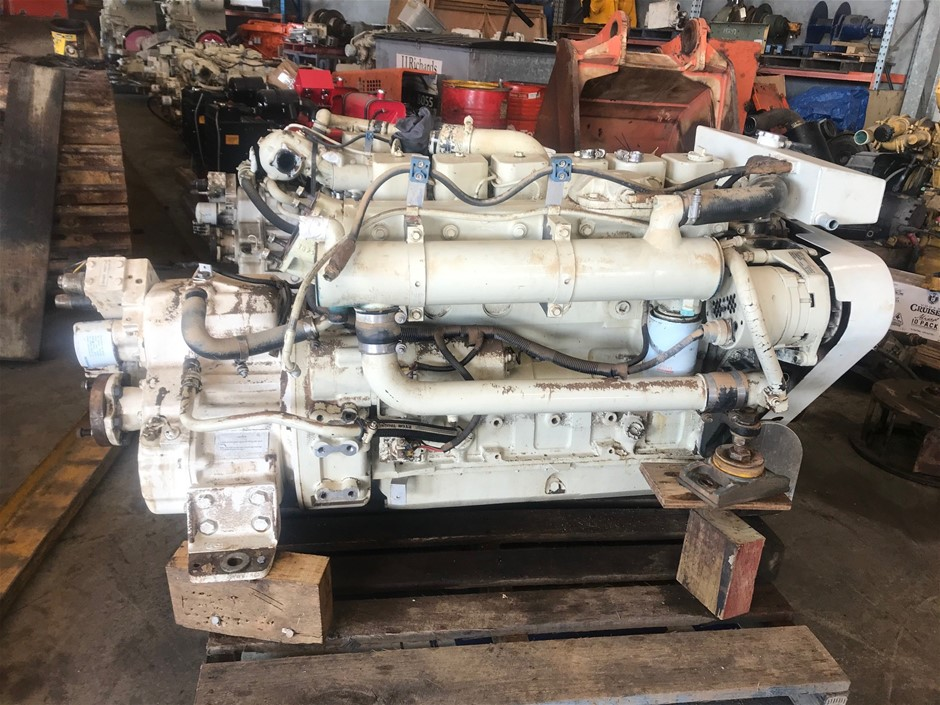Cummins 6bt5.9 Marine Diesel Engine