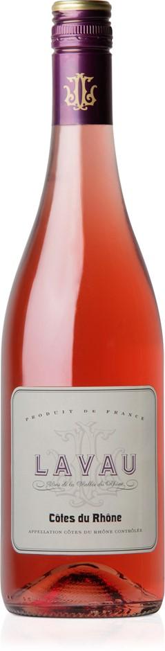 Lavau Côtes du Rhône Rosé 2019 (12x 750mL).