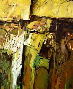 KENNETH HOOD (b.1928-2002 ) SCARCE LARGE