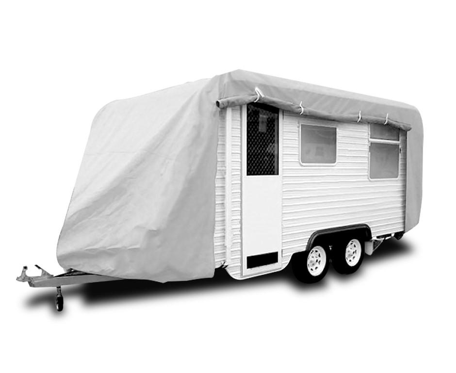 Caravan Cover with zip 16-19 ft