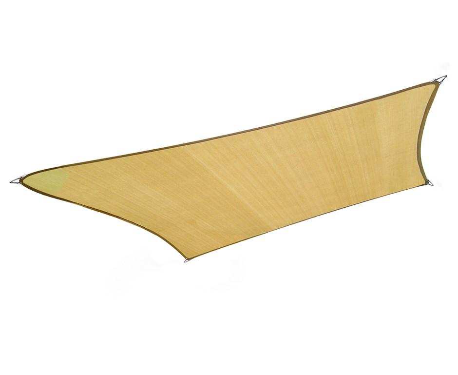 Wallaroo Rectangular Shade Sail 3 x 2.5m - Sand