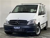 2012 Mercedes Benz Vito 113 CDI SWB Turbo Diesel