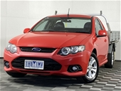Unreserved 2013 Ford Falcon XR6 FG II Automatic Cab Chassis