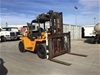 <p>Clark Counterbalance 10T Forklift</p>