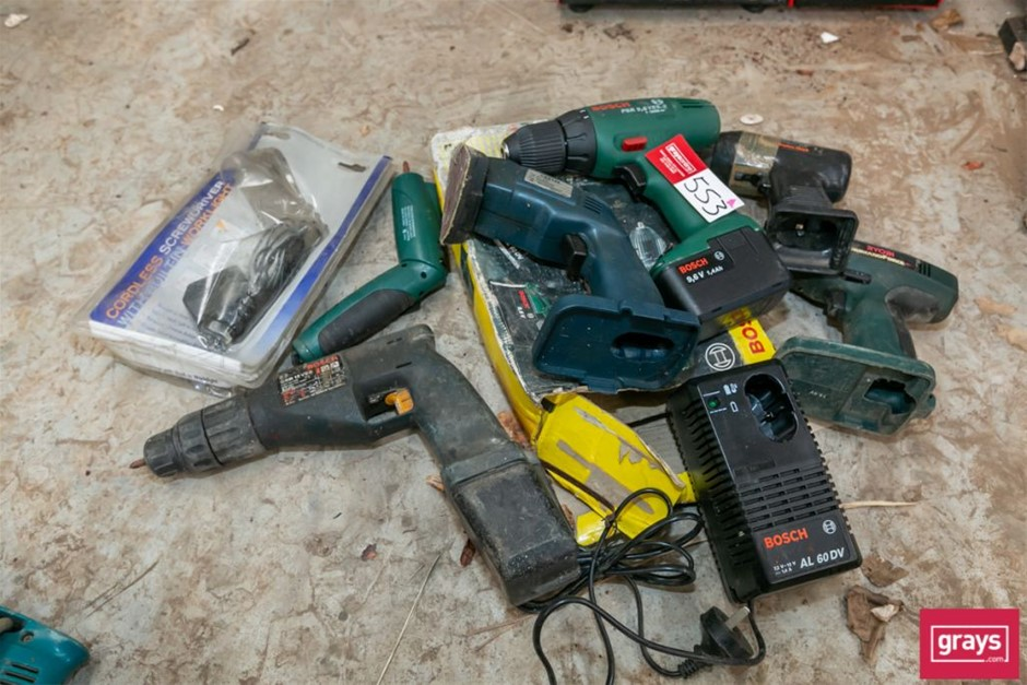 Assorted Cordless Power Tool