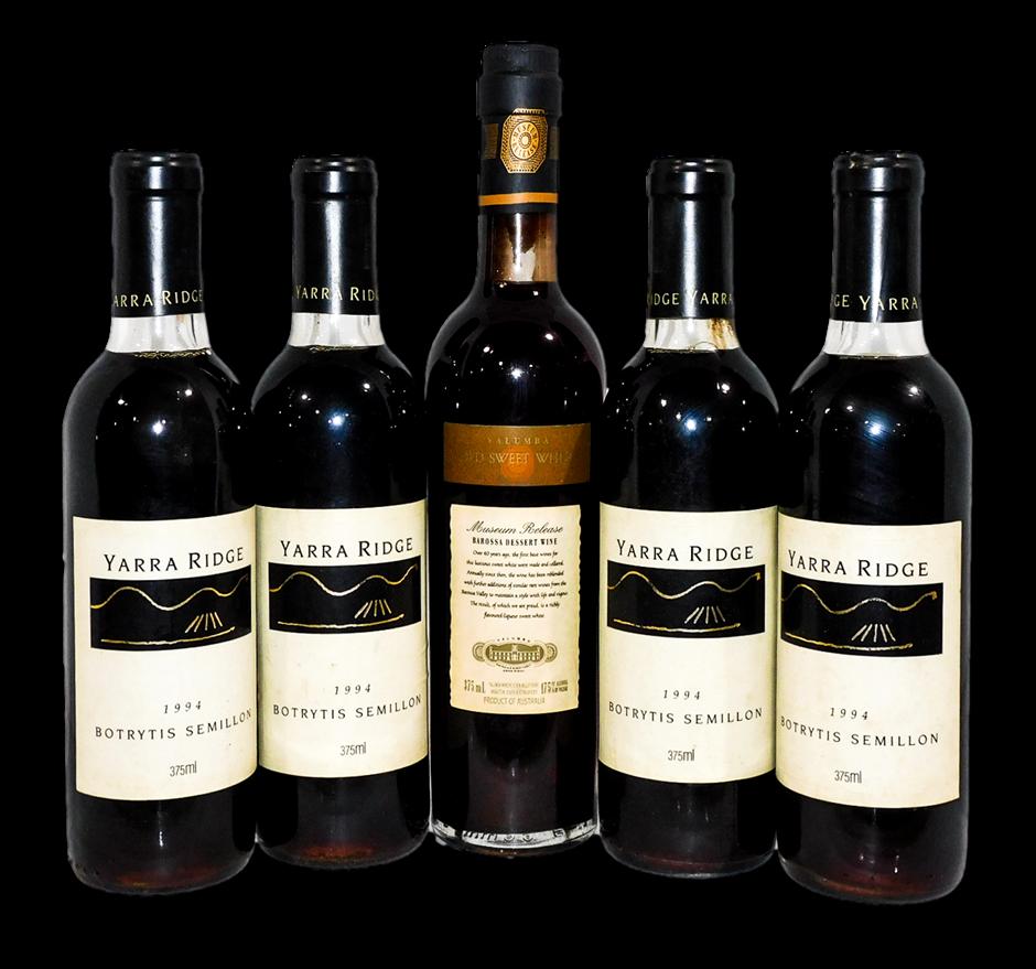 Mixed Dessert Wine (5x 375mL), VIC/SA
