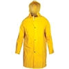 TOLSEN 2XL PVC Rain Coat with Hood, 0.32mm Thickness. Buyers Note - Discoun