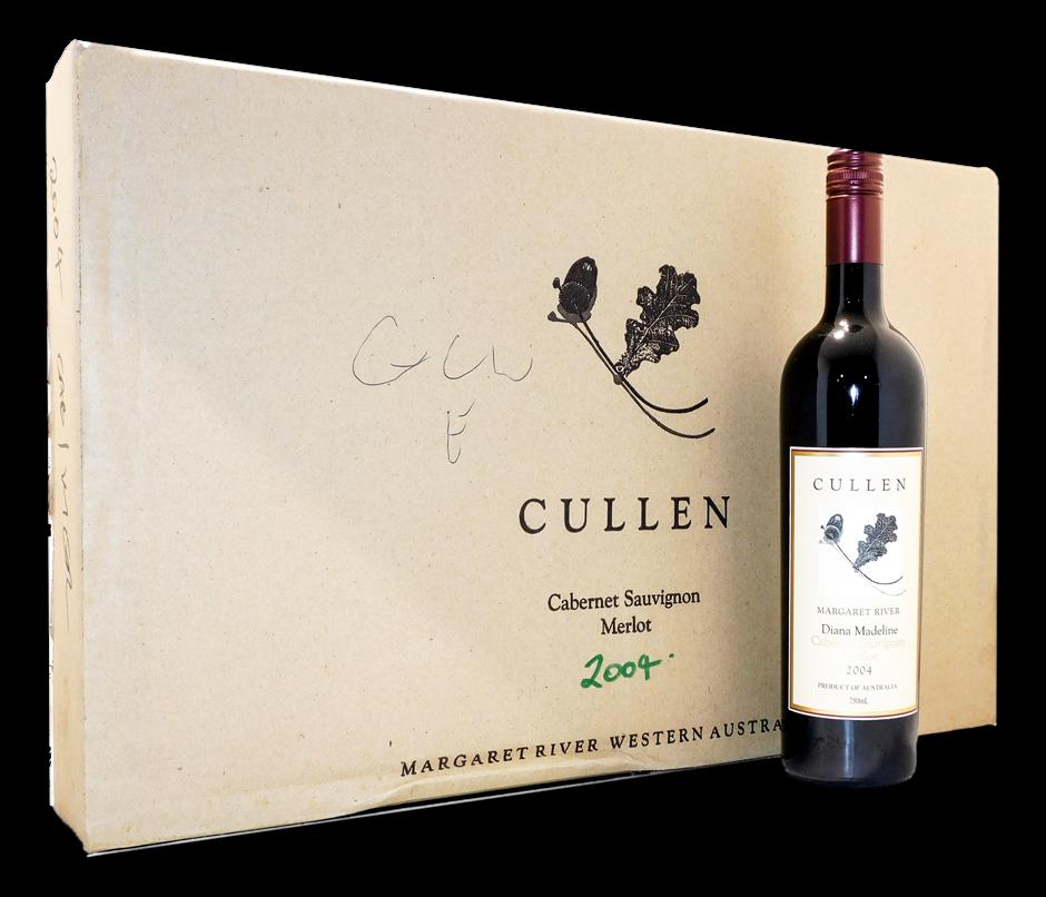 Cullen Diana Madeline Cabernet Merlot 2004 (6x 750mL), WA