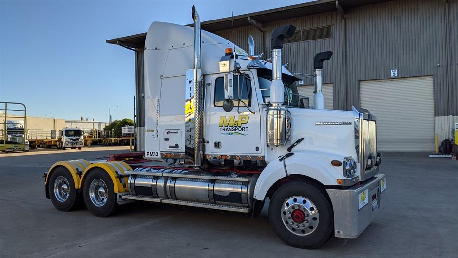 2018 Western Star 4864 FXB 6 x 4 Prime Mover Truck