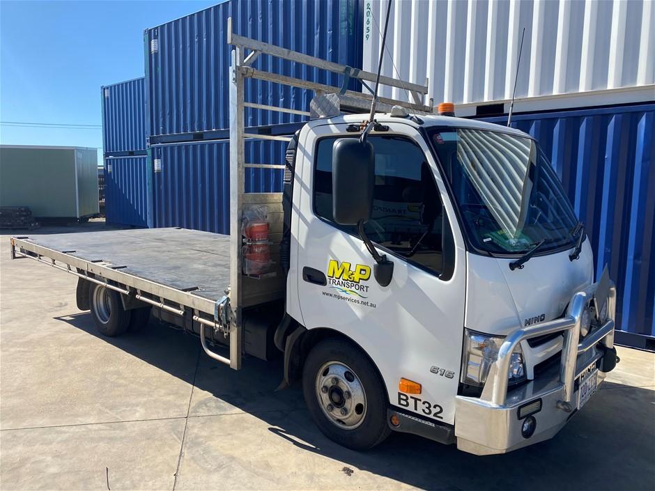 2019 Hino 300 (616) 4 x 2 Tray Body Truck