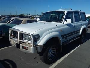 1997 Toyota Landcruiser GXL (4x4) FZJ80