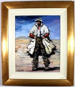 PALLA JEROFF (b.1957) ORIGINAL Oil Paint