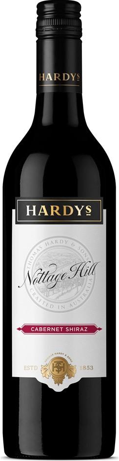 Hardys Nottage Hill Cabernet Shiraz 2019 (6 x 750mL), SE AUS.