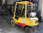 Hyster Forklift,Maeda Spider Crane & Trailer Tyres