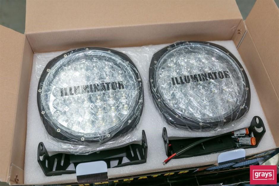 "Illuminator 9RMD160 2x 9"" LED Driving Lights"