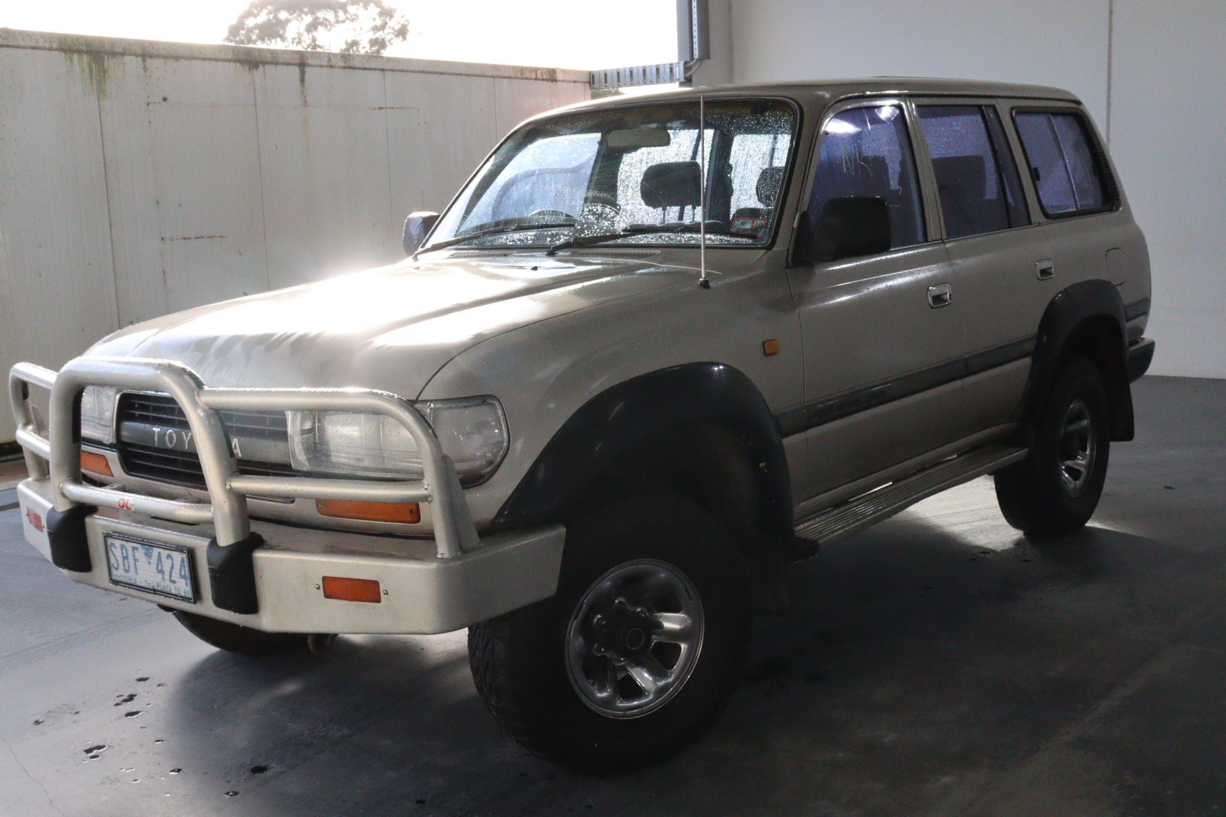 1990 Toyota Landcruiser Manual 7 Seats SUV