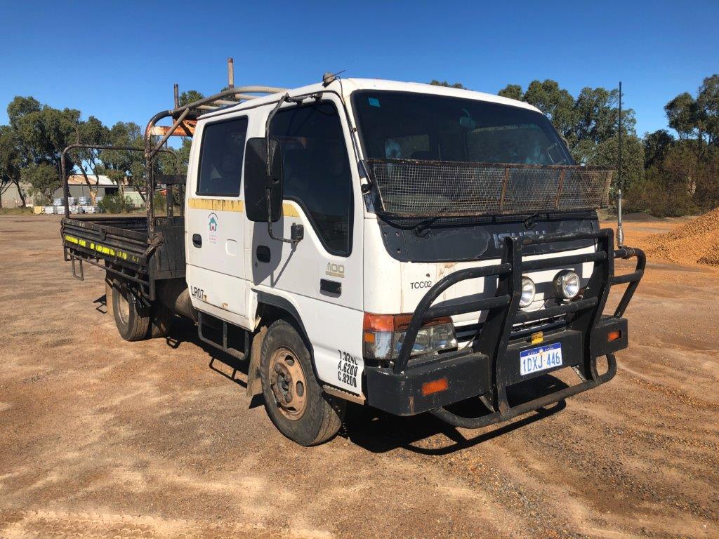 2002 Isuzu NPR 4 x 2 Tray Body Truck (Geraldton)