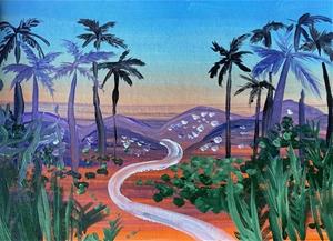 LA Dreaming - Original paintedl artwork