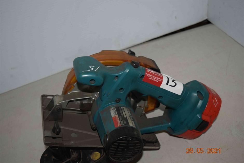 Makita 18 Volt 160mm Cordless Power Saw