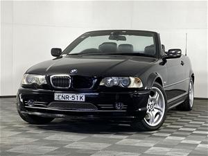 2002 BMW 3 30Ci E46 Automatic Convertibl