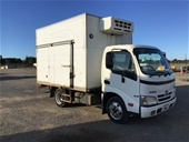 Unreserved 2007 Hino 300 4x2 Refrigerated Body Truck
