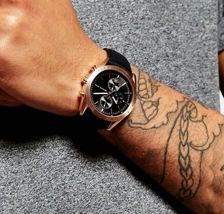 Mens new Michael Kors Couture NY quartz chronograph watch.