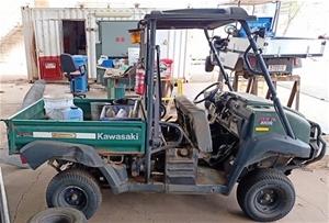 2012 Kawasaki Mule KAF950F 4 x 4 - 2-Sea
